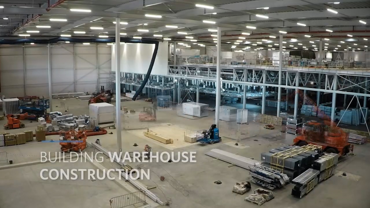 Time-lapse video of the construction of Kite's cell therapy manufacturing facility located outside of Amsterdam.