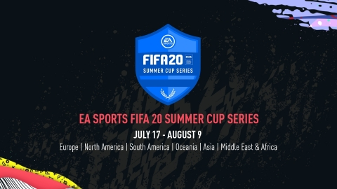 Electronic Arts and FIFA Announce New Six-Event EA SPORTS FIFA 20 Summer Cup Series, eFriendlies and the Return of Postponed Football League Events (Graphic: Business Wire)