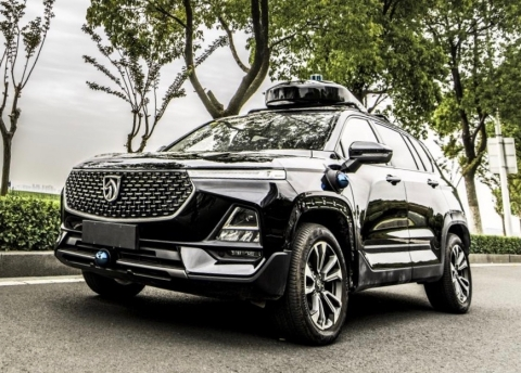 Venti Technologies AV-enabled SUV (Photo: Business Wire)