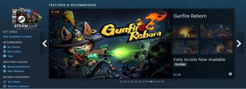 "Gunfire Reborn, a FPS+Roguelite game, is on Steam ""Top Sellers"" (Photo: Business Wire)"