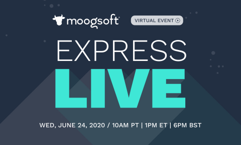Moogsoft Express Live marks the launch of the all-in-one AIOps and observability solution for DevOps and SRE teams. (Graphic: Business Wire)