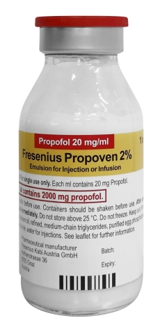 Fresenius Kabi received FDA Emergency Use Authorization for Propoven 2% (propofol 20 mg/mL) for mechanically ventilated COVID-19 patients. Propoven 2% has double the concentration of Fresenius Kabi's Diprivan Injectable Emulsion USP 10 mg/mL. (Photo: Business Wire)