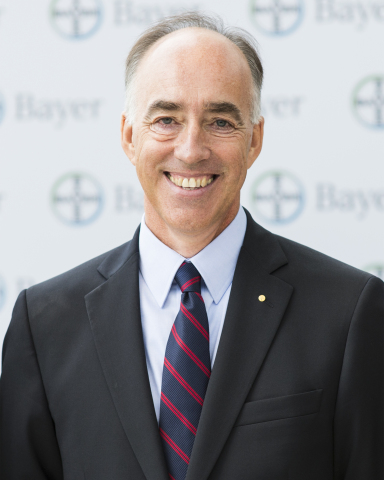 Philip Blake, Senior Bayer Representative (SBR) and President of Bayer in the United States, has announced his retirement from this leadership role after nearly 40 years with the company. He will remain on board as a consultant to the company through the end of the year. (Photo: Business Wire)