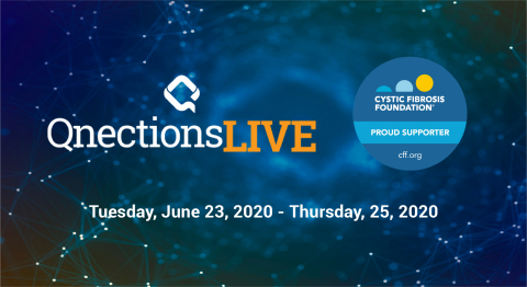 Quorum Software and its customers and partners raise funds for the Texas Gulf Coast Chapter of the Cystic Fibrosis Foundation through Qnections LIVE conference.(Graphic: Business Wire)