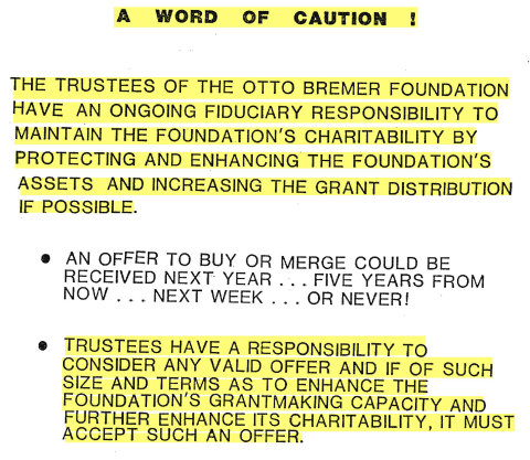 Except from 1988 BFC presentation (Photo: Business Wire)