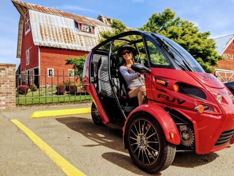 Progressive motorcycle insurance is now available for the pure-electric FUV. (Photo: Business Wire)
