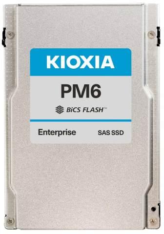 キオクシア株式会社:業界初、24G SAS対応 サーバー/ストレージシステム向けエンタープライズSSD「PM6シリーズ」 (写真:ビジネスワイヤ)