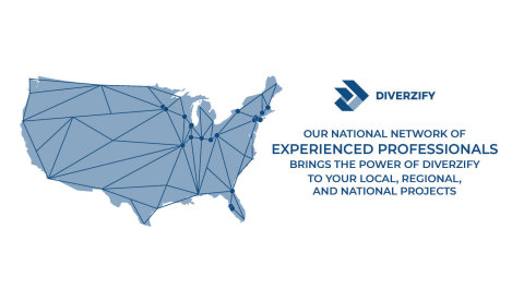 Diverzify Brings National Reach With Local Service (Graphic: Business Wire)
