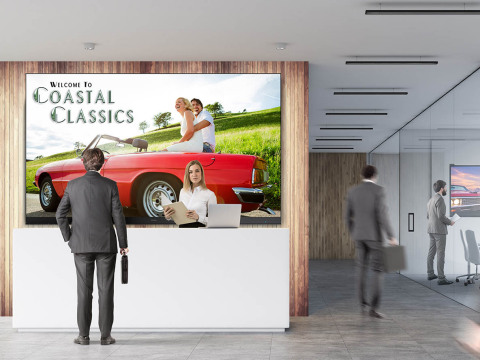A Premium All-in-One Direct View LED Display Solution, the ViewSonic LD Series Come in 135- and 163-inch Sizes and are Built to Deliver Stunning Visuals (Photo: Business Wire)