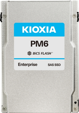 Featuring KIOXIA's 96-layer BiCS FLASH™ 3D TLC flash memory, the PM6 Series delivers industry-leading SAS SSD sequential read performance. (Photo: Business Wire)