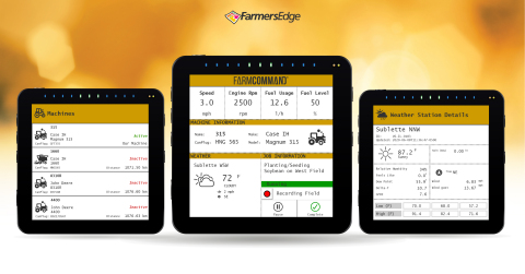 FarmCommand is now available on all ISOBUS-enabled monitors. (Photo: Business Wire)