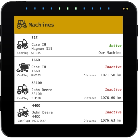 FarmCommand Universal Terminal makes monitoring machines easy. (Photo: Business Wire)