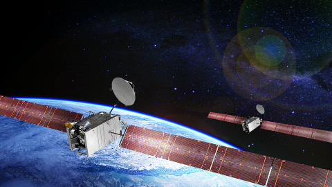 Boeing/Artist's Rendition of SES-20 and SES-21 satellites (Photo: Business Wire)