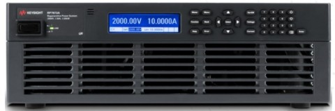 Keysight's RP7900 Series of regenerative power supplies minimizes high-power test costs by shrinking floor space usage, reducing heat dissipation and maintaining uptime. (Photo: Business Wire)
