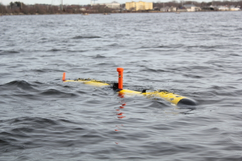 Figure 1: Iver4 580 Unmanned Underwater Vehicle (Photo: Business Wire)