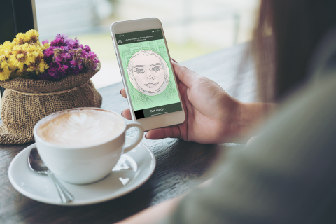 iProov enables online identity verification using biometric Genuine Presence Assurance (Photo: Business Wire)