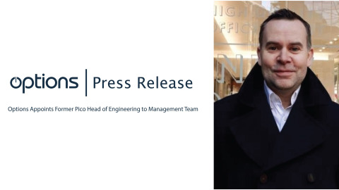 Options Appoints Former Pico Head of Engineering To Management Team (Photo: Business Wire)