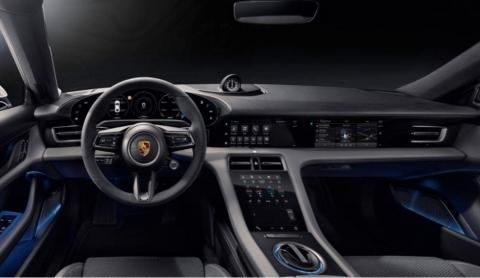 Porsche Taycan Infotainment Layout (Photo: Porsche)