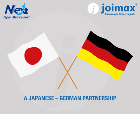 New Partnership: joimax® Joins Forces with JAPAN MEDICALNEXT CO., LTD. (Graphic: Business Wire)