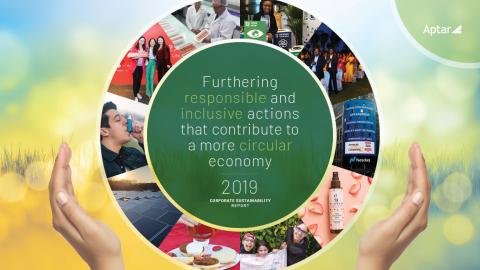 Aptar's 2019 Sustainability Report