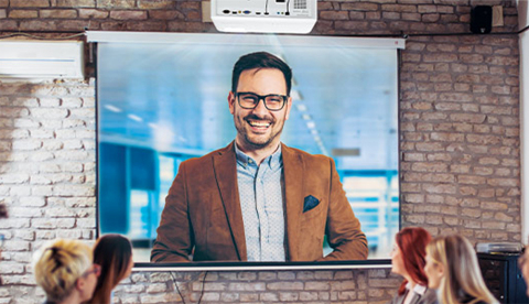 Engineered for 24/7 continuous operation, the ViewSonic LS600W LED projector features an upgraded RGB light source for enhanced image quality. (Photo: Business Wire)