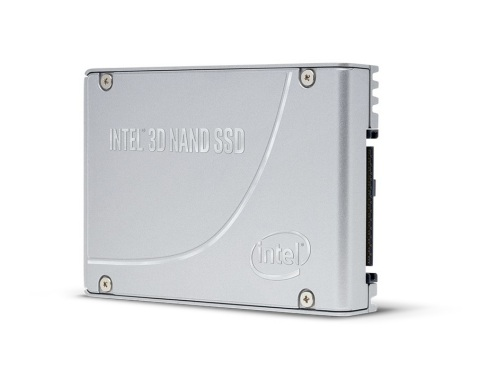 Intel announces new 3D NAND SSDs on June 18, 2020. The next-generation high-capacity Intel 3D NAND SSDs, the Intel SSD D7-P5500 and P5600, are built with Intel's latest triple-level cell (TLC) 3D NAND technology and an all-new low-latency PCIe controller. (Credit: Intel Corporation)