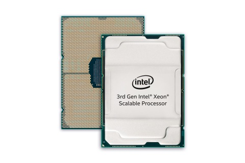 Intel announces its 3rd Gen Intel Xeon Scalable processors on June 18, 2020. The processors extend Intel's investment in built-in AI acceleration through the integration of bfloat16 support into the processor's unique Intel DL Boost technology. (Credit: Intel Corporation)