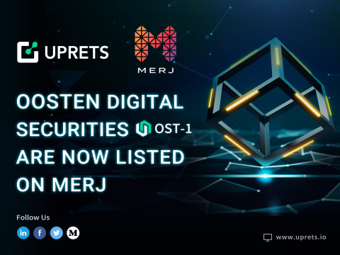 Oosten Digital Securities Are Now Listed on MERJ EXCHANGE for Secondary Trading (Photo: Business Wire)