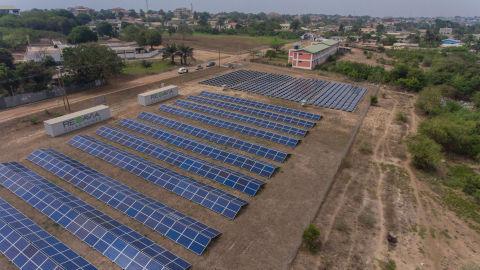REDAVIA Solar Farm at Regional Maritime University (Photo: Business Wire)
