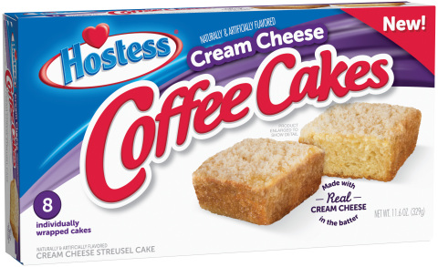 Hostess® Cream Cheese Coffee Cakes (Photo: Business Wire)