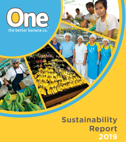 We truly believe that One Banana Makes a Difference. With the publication of its sixth Sustainability Report, One Banana reassures it's commitment to contribute to a better world, continue and improve its position in the market, maintain competitiveness, and continue to pioneer the highest standards in the industry. (Photo: Business Wire)