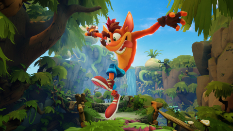 Toys for Bob and Activision have teamed up to create Crash Bandicoot™ 4: It's About Time, a completely new game, and the first new installment to the Crash Bandicoot™ series in more than a decade. With his new moves, style, Masks and abilities, he will have to face the most dangerous obstacles and boss battles yet. Crash Bandicoot™ 4: It's About Time launches worldwide on October 2, 2020, on PlayStation® 4, PlayStation® 4 Pro, Xbox One and Xbox One X. (Graphic: Business Wire)