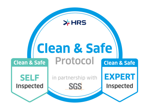HRS and SGS Establish New Hygiene Protocol for Global Hotel Industry (Graphic: Business Wire)