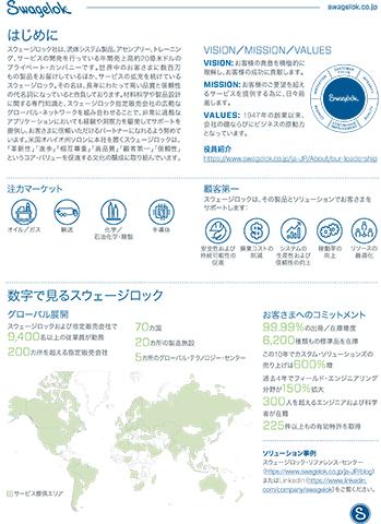 Swagelok Company Fact Sheet: Japan Locations