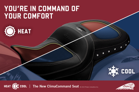 Indian Motorcycle's thermoelectric technology is much more effective than the automotive market standard of HVAC convection systems. A critical performance benefit of the ClimaCommand technology is that it actually produces a surface that's cold to the touch, rather than merely pushing cool air through perforations in the surface in the manner that HVAC system offerings operate. (Graphic: Business Wire)