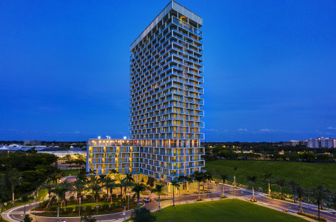 ONE Metropica Residences, design by YOO -- the first residential offering within the $1.5 billion, 65-acre master-planned Metropica (Photo: Business Wire)