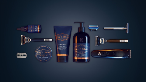 King C. Gillette erweckt das traditionelle Rasur-Ritual neu zum Leben (Photo: Business Wire)