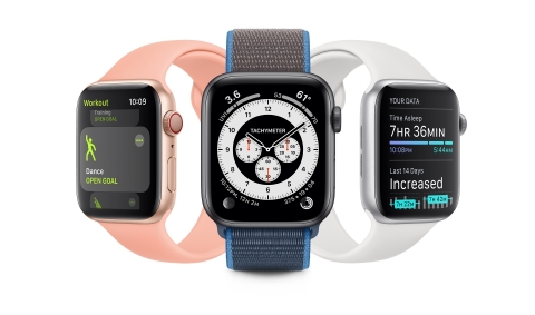 watchOS 7 brings new personalization, health, and fitness features to Apple Watch this fall. (Photo: Business Wire)