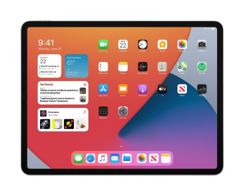 iPadOS 14 introduces new features and designs that make the iPad experience even more distinctive. (Graphic: Business Wire)