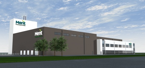 Merit Functional Foods' facility will be complete at the end of this year and will produce the world's highest purity and quality pea and canola protein. (Photo: Business Wire)