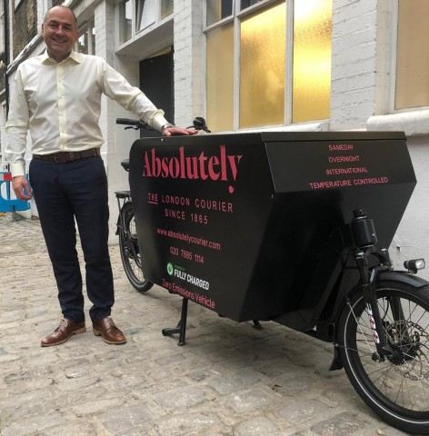 Stuart Godman - CEO of Absolutely, delighted to welcome the Go-Betweens team to the Absolutely family  (Photo: Business Wire)