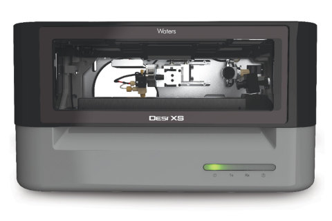 The Waters Desorption Electrospray Ionization (DESI) imaging option (DESI XS) for Waters' high-resolution mass spectrometers, opens up new paths of discovery for scientists investigating small molecule drug compounds for treating human disease (Photo: Business Wire)