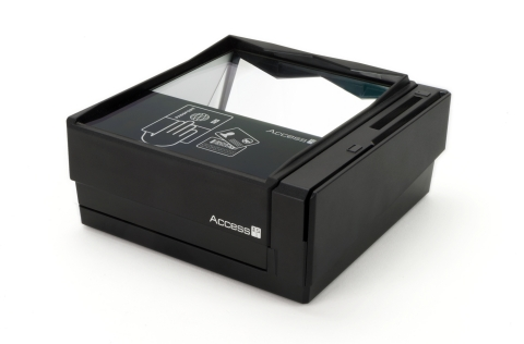Access-IS ATOM document reader with expansion dock (Photo: Business Wire)