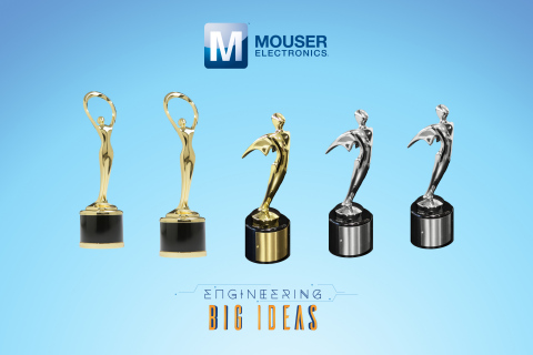 Mouser Electronics' Engineering Big Ideas video series has received three Telly Awards and two Communicator Awards of Excellence for exemplary branded content. (Photo: Business Wire)