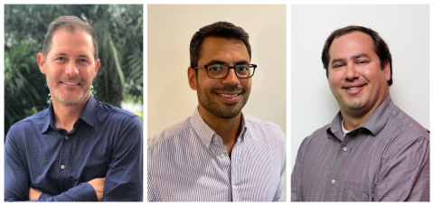CitrusAd continues to grow its presence and leadership team. Three of the most recent hires are industry veterans David Haase, Christian Lopez and Sean Cheyney. (Photo: Business Wire)