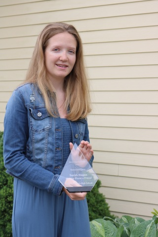 Sarah Hagan was named runner-up in the Maine App Challenge. (Photo: Business Wire)