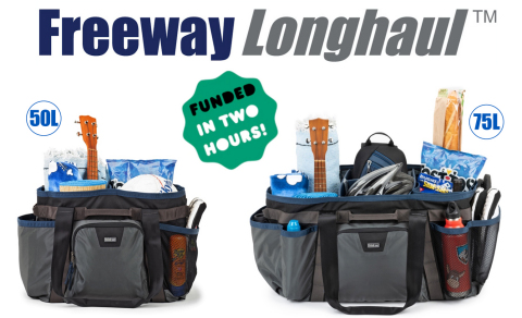 Think Tank Photo Freeway Longhaul 50L and 75L Carryall Duffel Series (Photo: Business Wire)