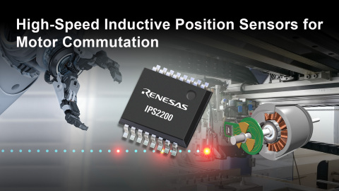 High-speed inductive position sensors for motor commutation (Photo: Business Wire)