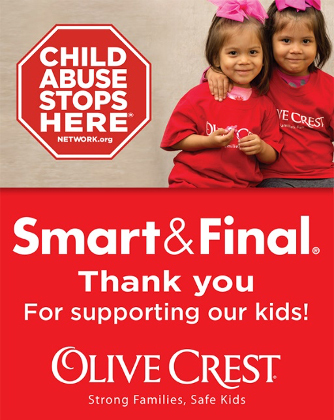 Smart & Final Charitable Foundation Hosts Annual Fundraising Campaign to Support Olive Crest (Graphic: Business Wire)