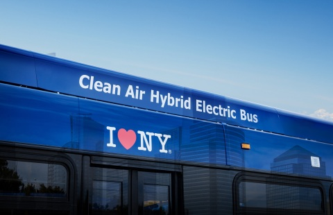 BAE Systems has been selected to supply hundreds of electric hybrid power and propulsion systems for transit buses in New York City. (Photo credit: BAE Systems)
